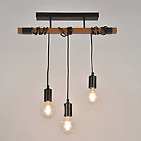 Suspension Aalto 3 lumières E27/40 W IP20 Corep