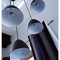 Suspension Colours Dosei noir l.16 x H.118 cm