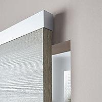 Système coulissant pour pose invisible porte bois Easy