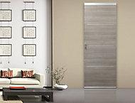 Système coulissant pour pose invisible porte en bois
