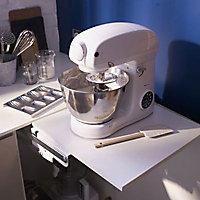 Système tablette relevante pour robot ménager