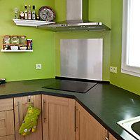 Tôle alu anodisé gris brossé 600 x 900 mm