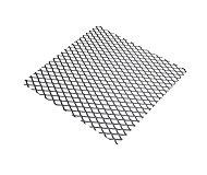 Tôle métal déployé acier brut Mailles 6 x 3,3 mm, 50 x 25 cm