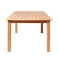 Table de jardin bois rectangulaire Blooma Molara 180/240 x 106 cm