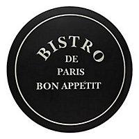 Table de jardin en fer Bistro ø77,5 cm avec 4 tabourets