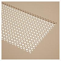 Table de jardin en métal Dorsey muscade 150 x 85 cm