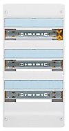 Tableau électrique à équiper 3 rangées - 39 modules Legrand