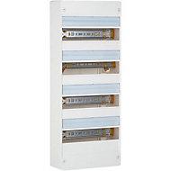 Tableau électrique à équiper 4 rangées - 52 modules Legrand
