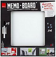 Tableau mémo board blanc 50 x 50 cm