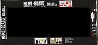 Tableau mémo board noir 30 x 80 cm