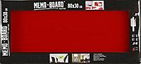 Tableau mémo board rouge 30 x 80 cm