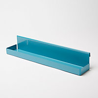 Tablette Amantea à suspendre bleu GoodHome