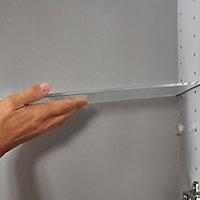 Tablette en verre Imandra compatible avec armoire murale 60cm P.11 cm