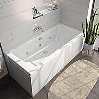 Tablier de baignoire frontal blanc Allibert Fix'alu 180 cm