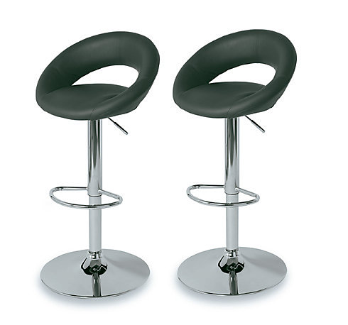Tabouret De Bar Cooke And Lewis Regina Gris Lot De 2 Castorama