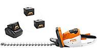 Taille-haie sans fil sur batterie 36V Stihl HSA56 45 cm (2 batteries + chargeur)