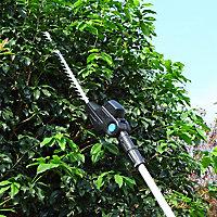 Taille-haie sur perche électrique MHTP550P 550 W 50 cm