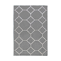 Tapis Casablanca or motif oval 100x150cm