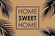 Tapis coco imprimé Home sweet home 60 x 40 cm