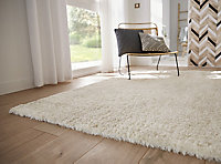 Tapis Cocoon blanc 100 x 150 cm