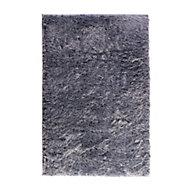Tapis Cocoon bleu gris 60 x 90 cm