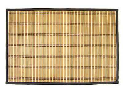 tapis de bain antiderapant bambou clair 60 x 90 cm bengale