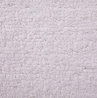 Tapis de bain antidérapant blanc 50 x 80 cm Diani