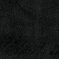 Tapis de bain antidérapant noir 50 x 80 cm Liao