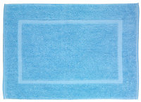 Tapis de bain Paradise bleu sérénité 70 x 50 cm