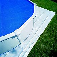 Tapis de sol 5,50m x 5,50m pour piscine Ø6,50m