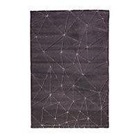 Tapis Design gris 100 x 150 cm