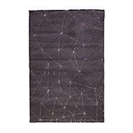 Tapis Design gris 150 x 200 cm