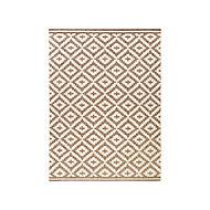 Tapis Flox taupe 150 x 200 cm