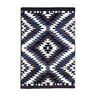 Tapis Gypsy bleu 100 x 150 cm