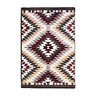 Tapis Gypsy terracotta 100 x 150 cm