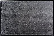 Tapis microfibre gris 60 x 40 cm Sweetsol