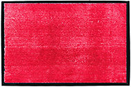 Tapis microfibre rouge 60 x 40 cm Sweetsol