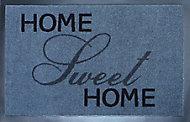 Tapis polyamide imprimé home sweet home 40 x 60 cm