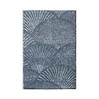 Tapis Sarah 60x90cm bleu