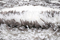 Tapis Scandi Tribal 100x150 cm blanc