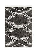 Tapis Scandi Tribal 100x150 cm gris