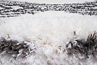 Tapis Scandi Tribal 150x200 cm blanc