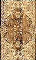 Tapis vinyle décor vintage 83 x 49,5cm