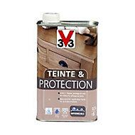 Teinte et protection meubles et boiseries V33 chêne moyen mat 0,5L