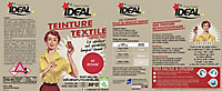 Teinture textile vintage rouge Idéal 350g