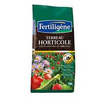 Terreau horticole Fertiligène 70L (3 sacs)