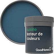 Testeur peinture cuisine GoodHome bleu Antibes mat 50ml