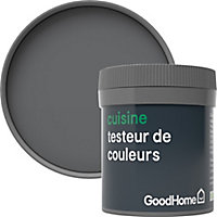 Testeur peinture cuisine GoodHome gris Princeton mat 50ml