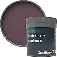 Testeur peinture cuisine GoodHome rouge Mayfair mat 50ml