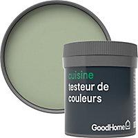 Testeur peinture cuisine GoodHome vert Limerick mat 50ml
